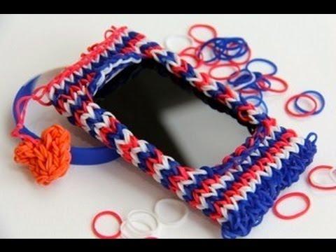 Плетение из резинок чехол для телефона на